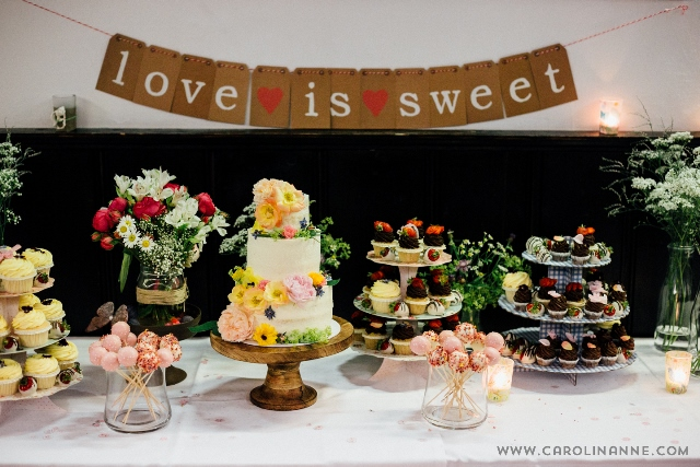 Sweet Table Flower Power