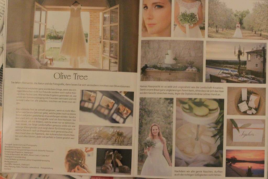Magazin Heiraten Styled Shooting in Kroatien