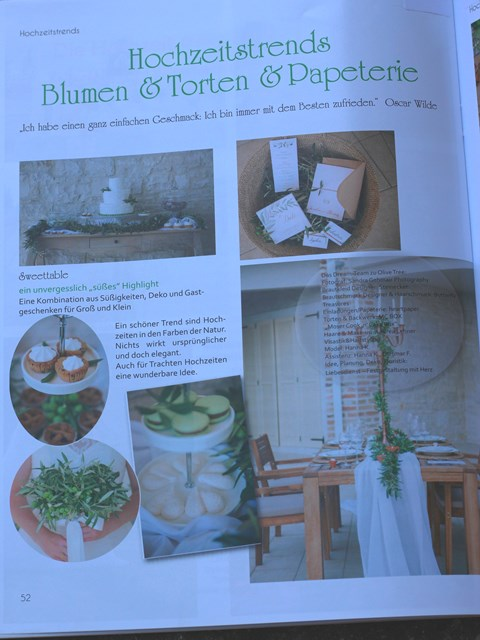 Olive Tree Magazin Heiraten 2017
