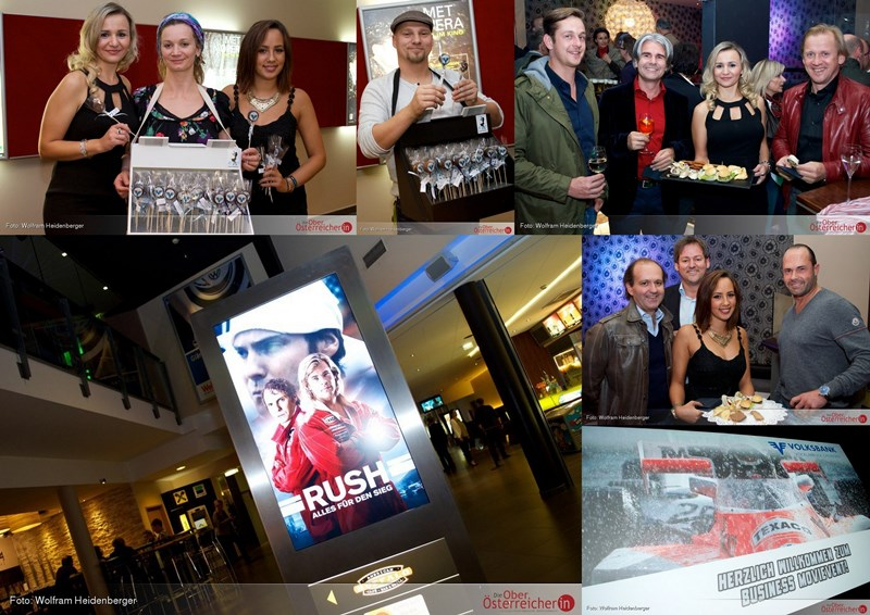 Rush Premiere Star Movie Regau