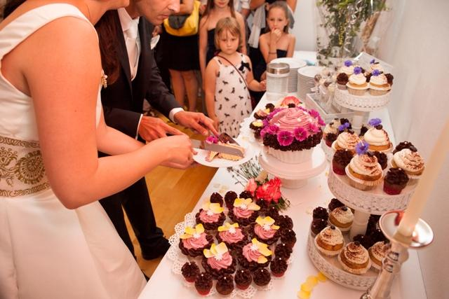 Cup Cake Buffet