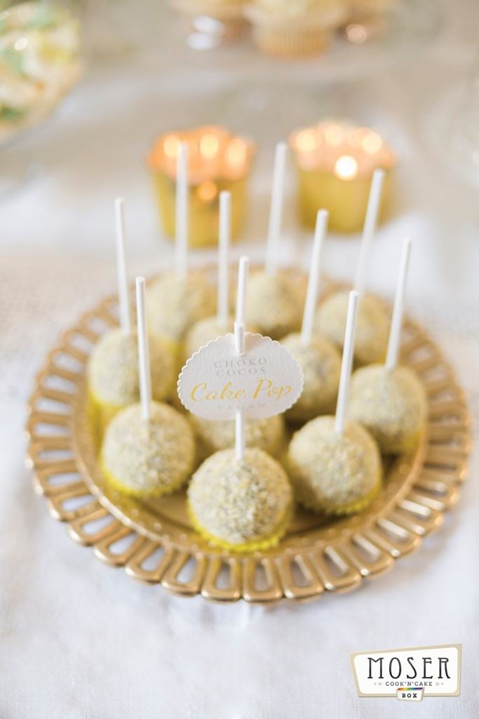 Schoko Kokos Cake Pop vegan (Rezept in unserem Blog)