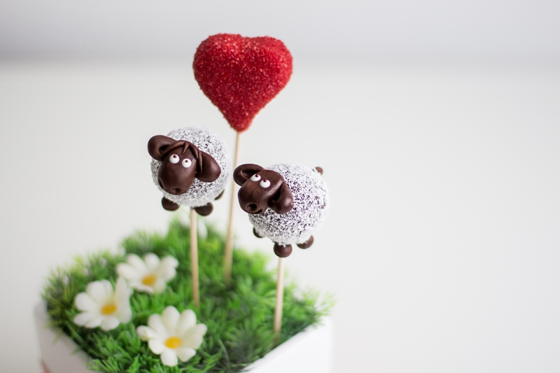 Cake Pop Schaf / Sheep